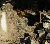 faller på steingrunn